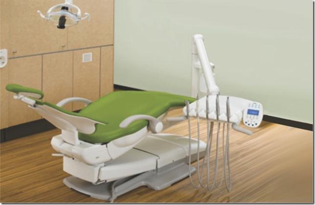 dental chair hook up